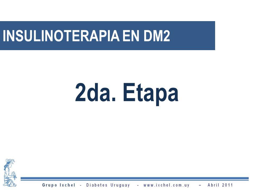 INSULINOTERAPIA EN DM2 2da. Etapa