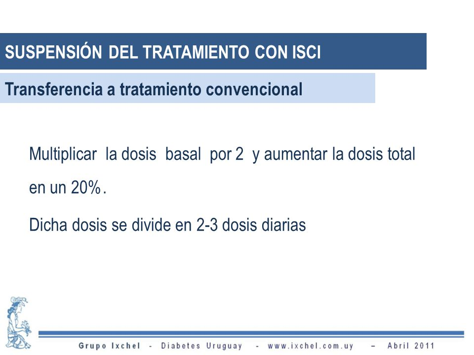 Transferencia a tratamiento convencional