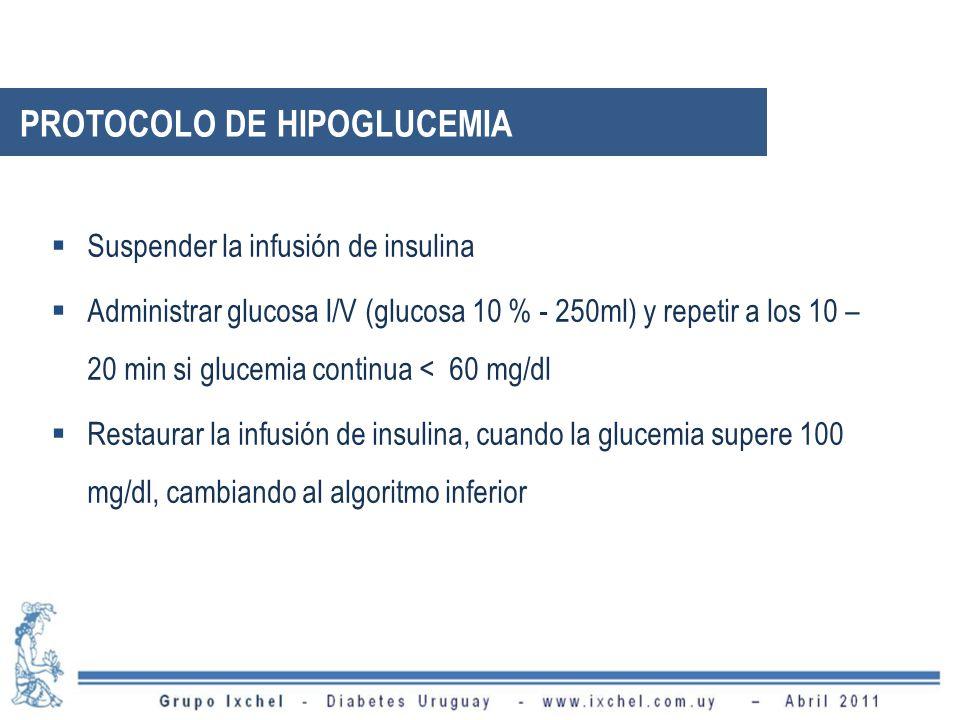 PROTOCOLO DE HIPOGLUCEMIA