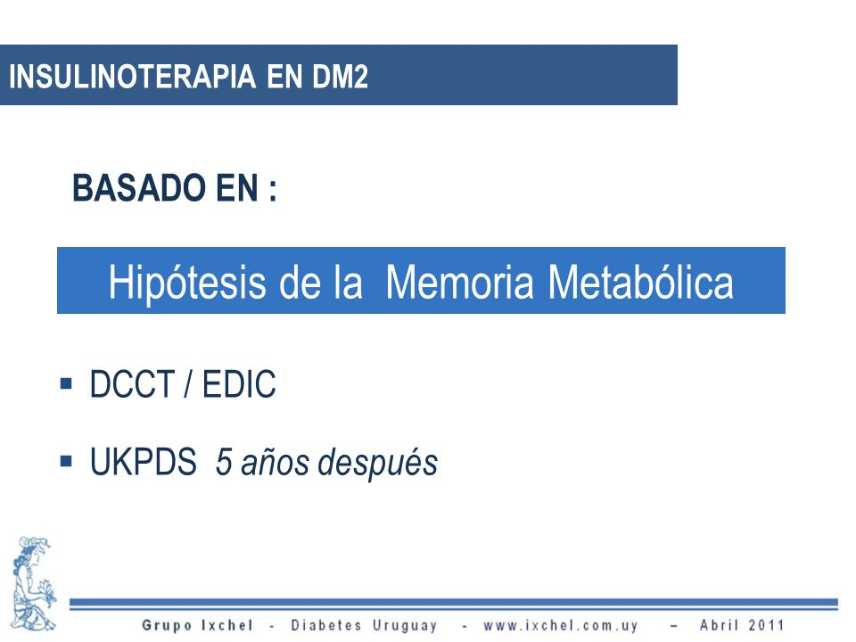 Hipótesis de la Memoria Metabólica