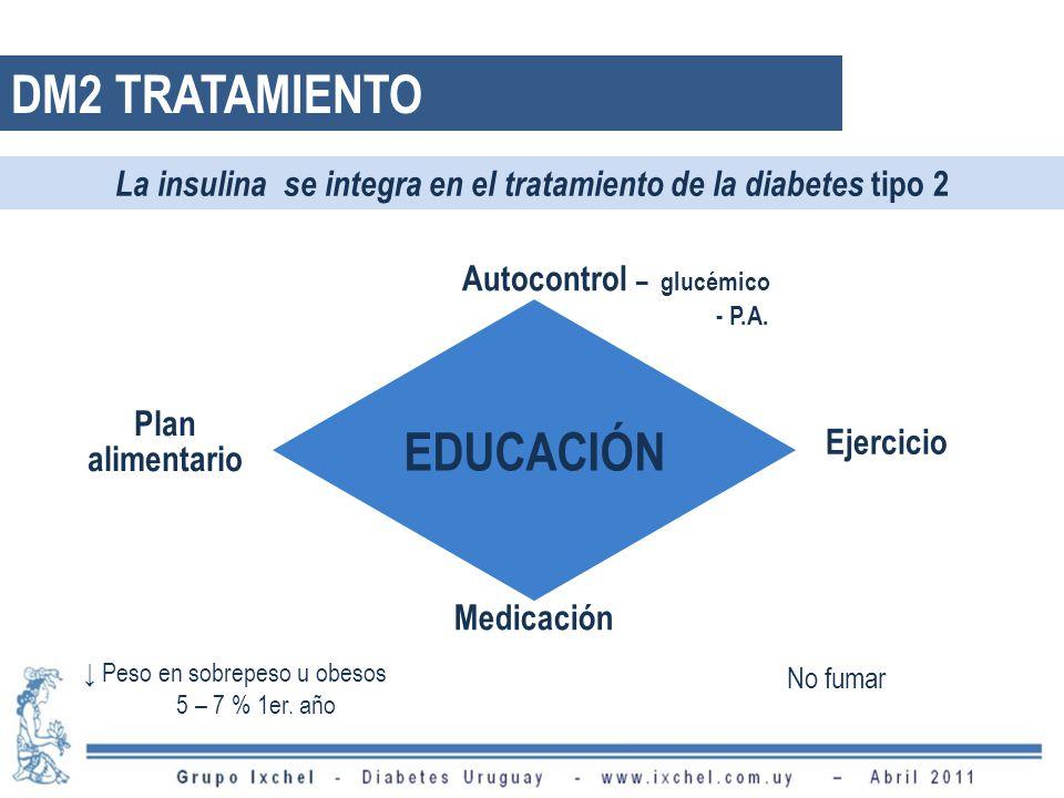 DM2 TRATAMIENTO EDUCACIÓN