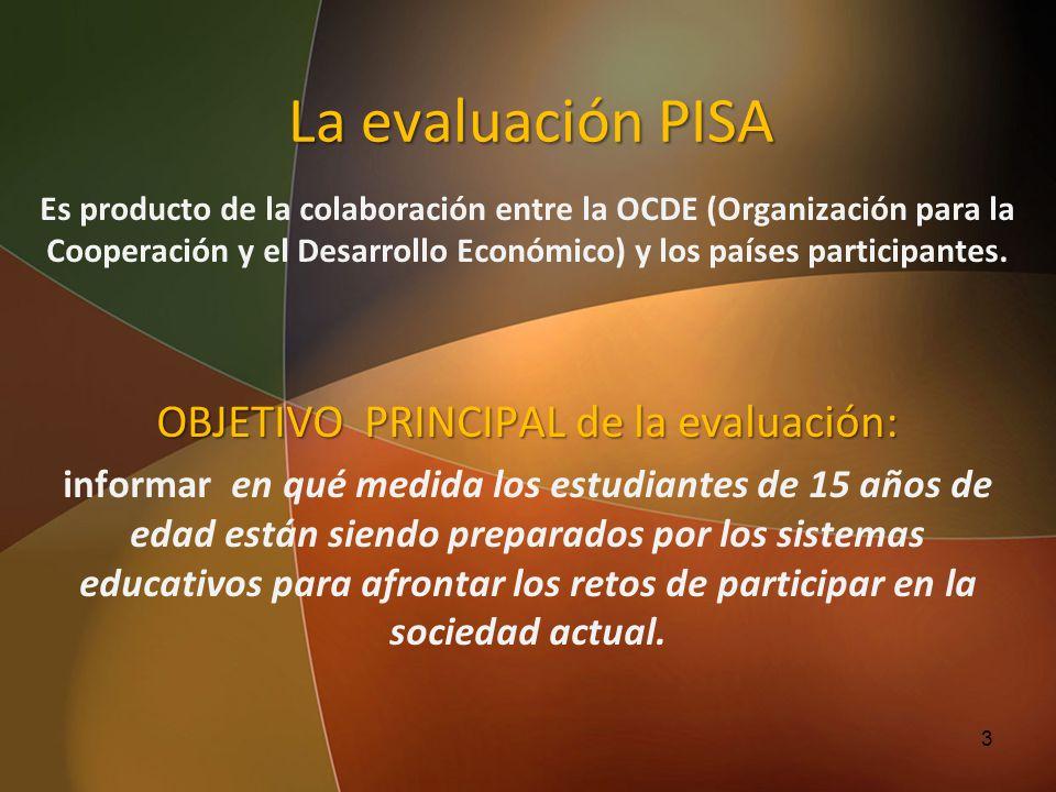 OBJETIVO PRINCIPAL de la evaluación:
