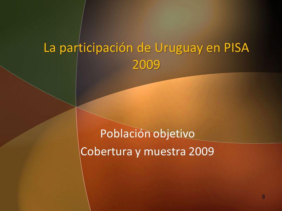 La participación de Uruguay en PISA 2009