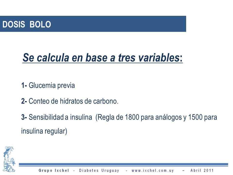 Se calcula en base a tres variables: