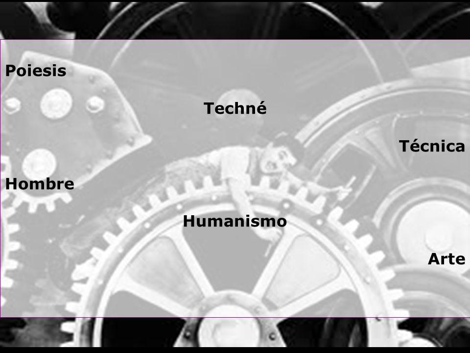 Poiesis Techné Técnica Hombre Humanismo Arte