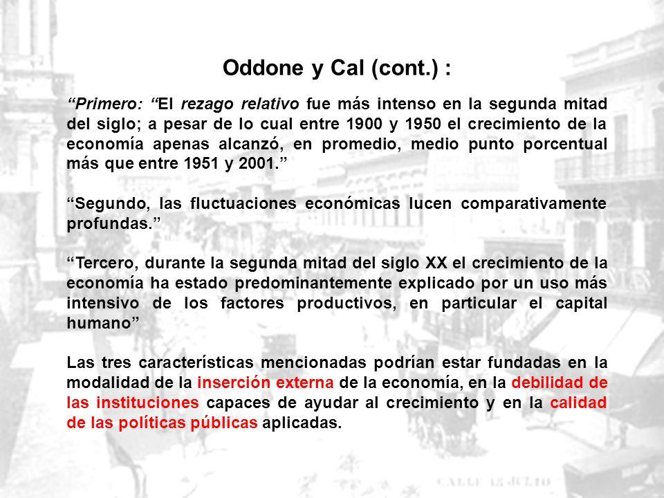 Oddone y Cal (cont.) :