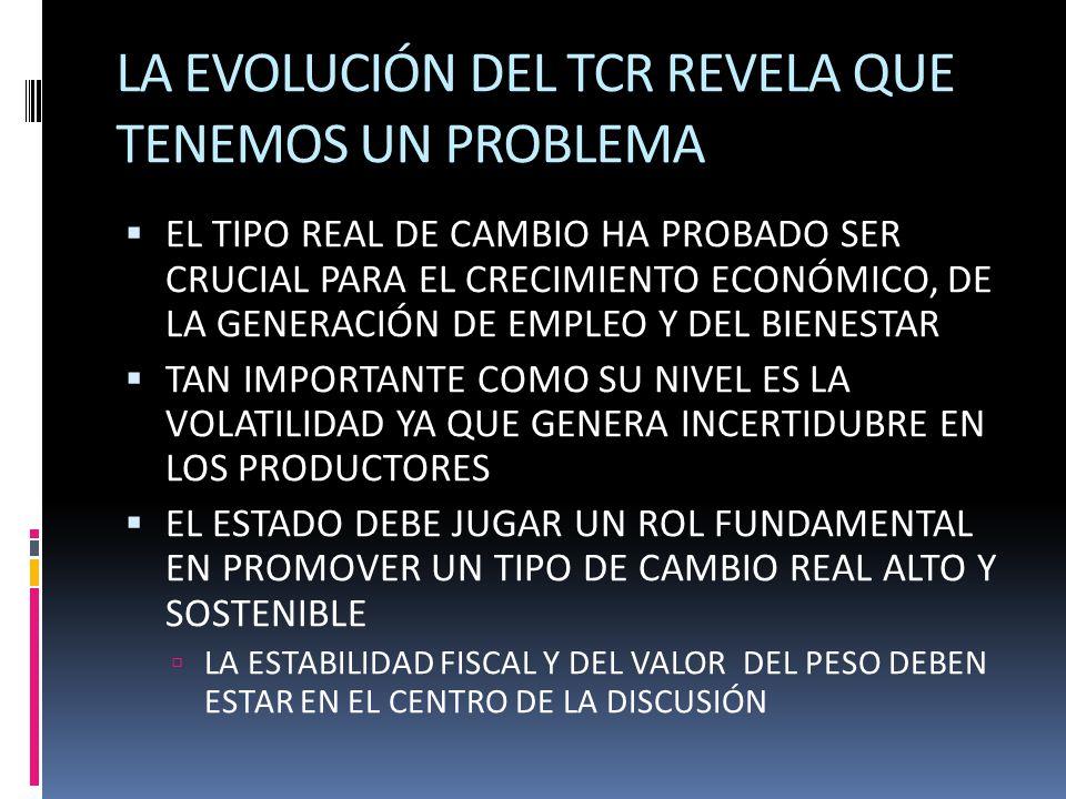 LA EVOLUCIÓN DEL TCR REVELA QUE TENEMOS UN PROBLEMA