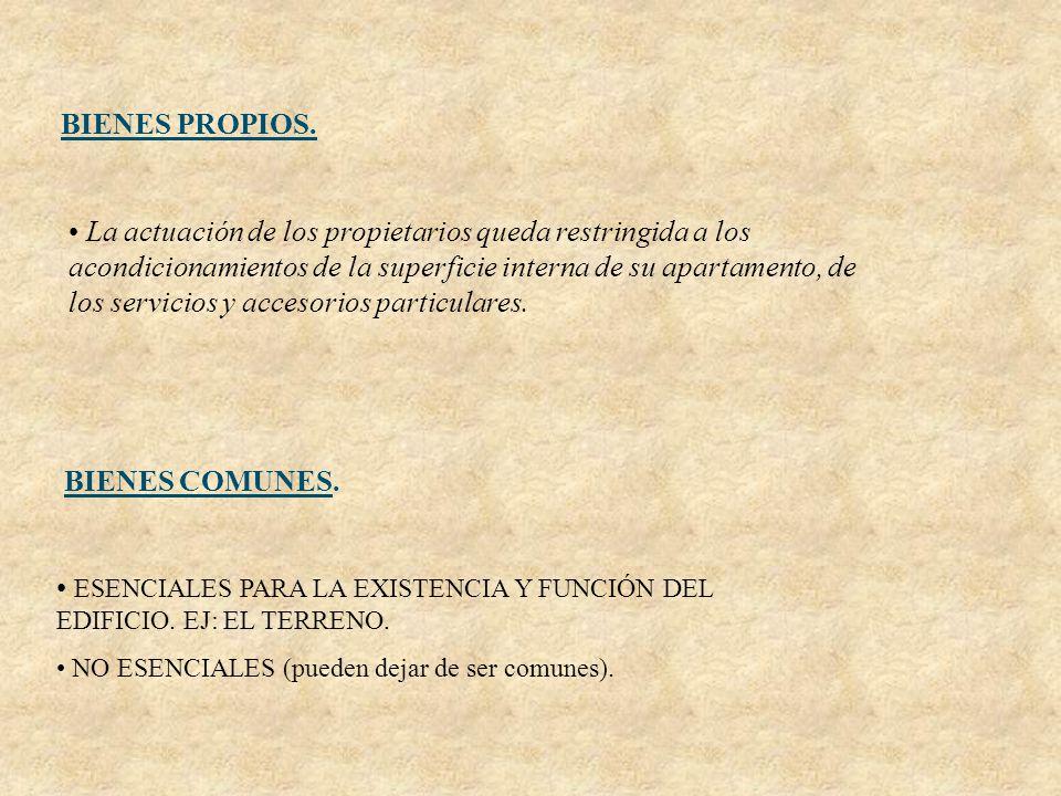 ESENCIALES PARA LA EXISTENCIA Y FUNCIÓN DEL EDIFICIO. EJ: EL TERRENO.