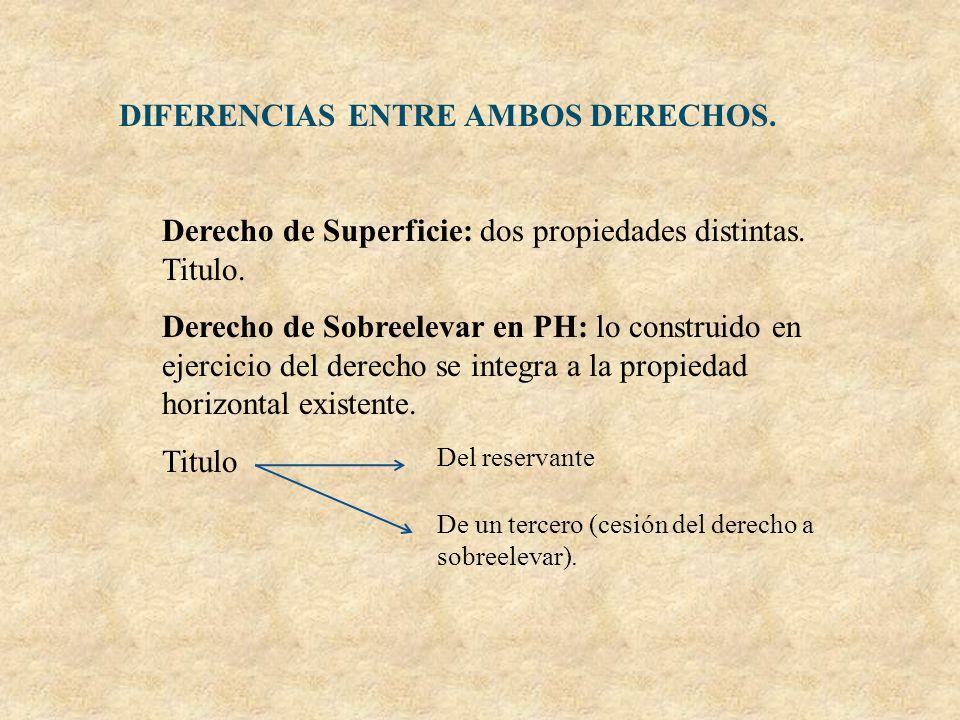 DIFERENCIAS ENTRE AMBOS DERECHOS.