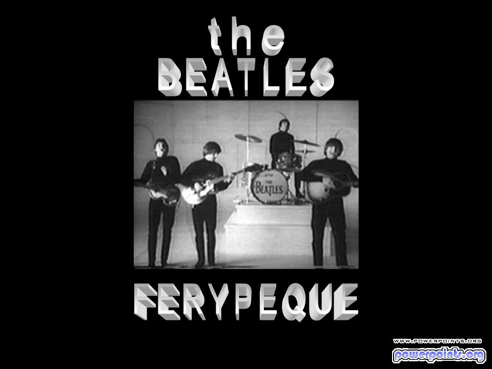 the BEATLES FERYPEQUE
