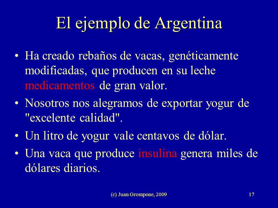 El ejemplo de Argentina