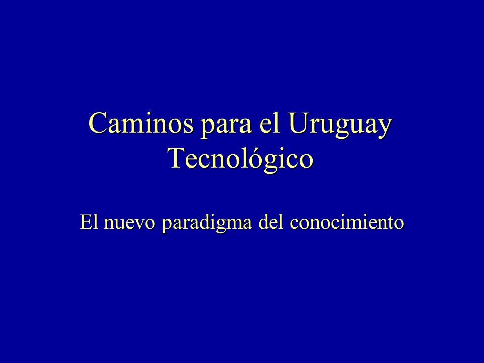 Caminos para el Uruguay Tecnológico