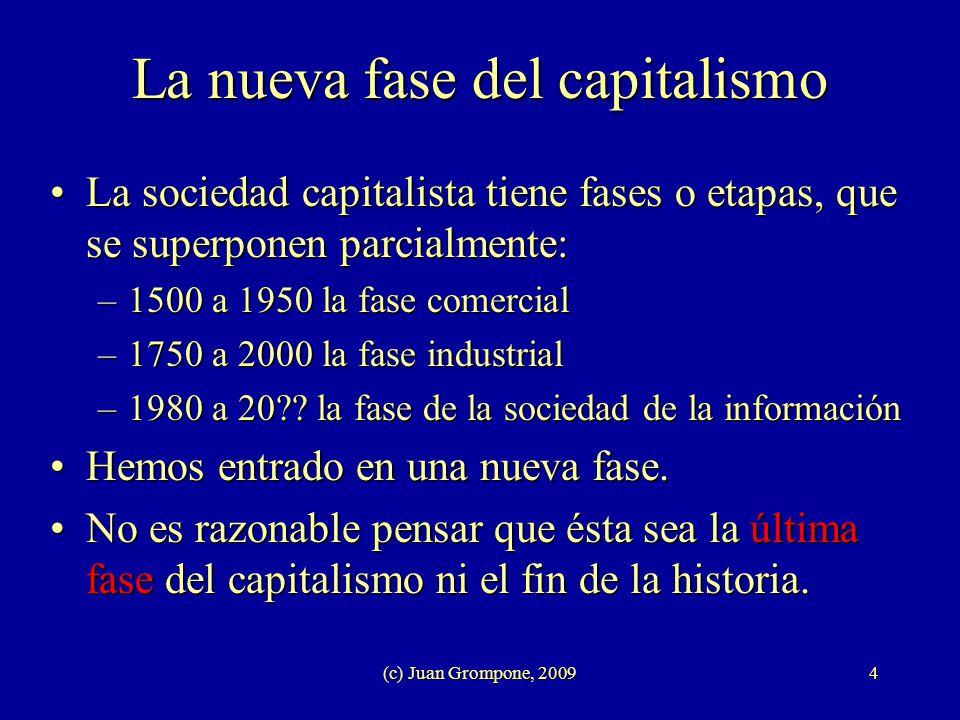 La nueva fase del capitalismo