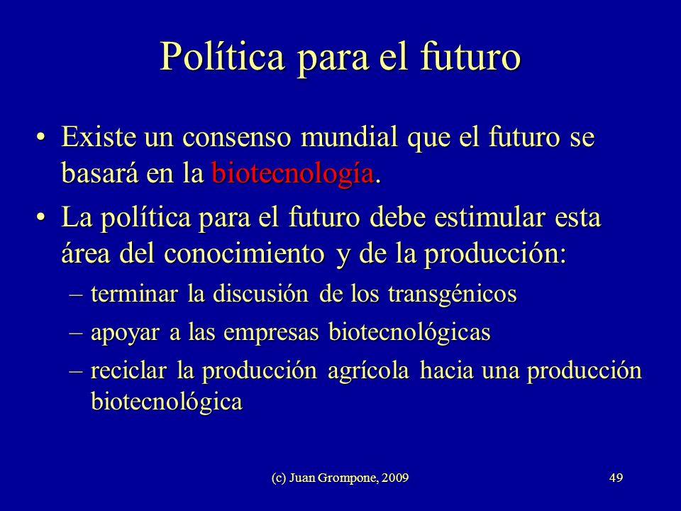 Política para el futuro