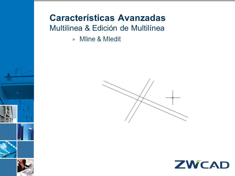 Características Avanzadas Multilinea & Edición de Multilínea