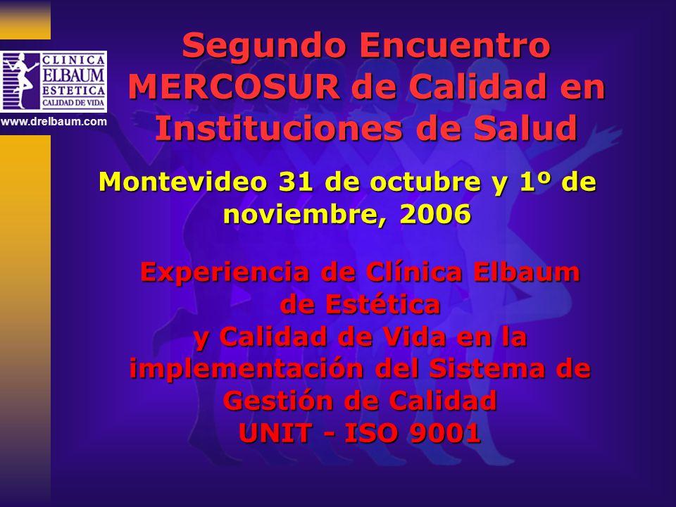 Segundo Encuentro MERCOSUR de Calidad en Instituciones de Salud