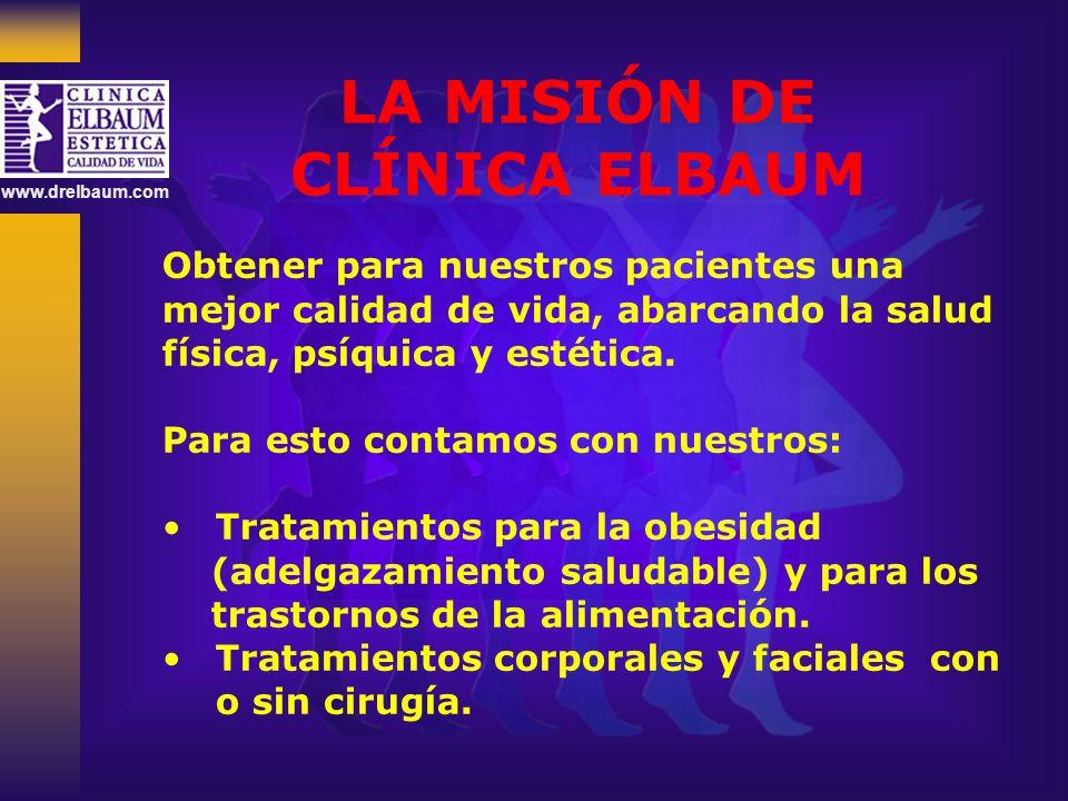 LA MISIÓN DE CLÍNICA ELBAUM