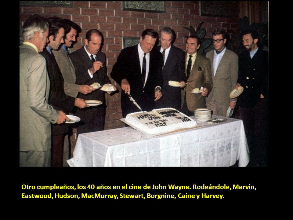 Otro cumpleaños, los 40 años en el cine de John Wayne