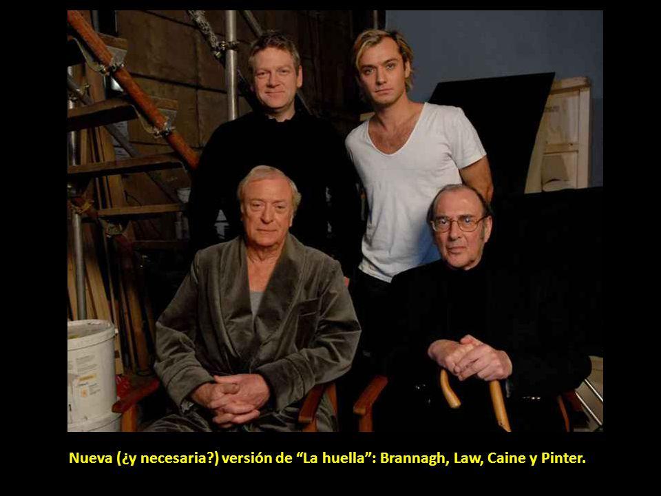 Nueva (¿y necesaria ) versión de La huella : Brannagh, Law, Caine y Pinter.