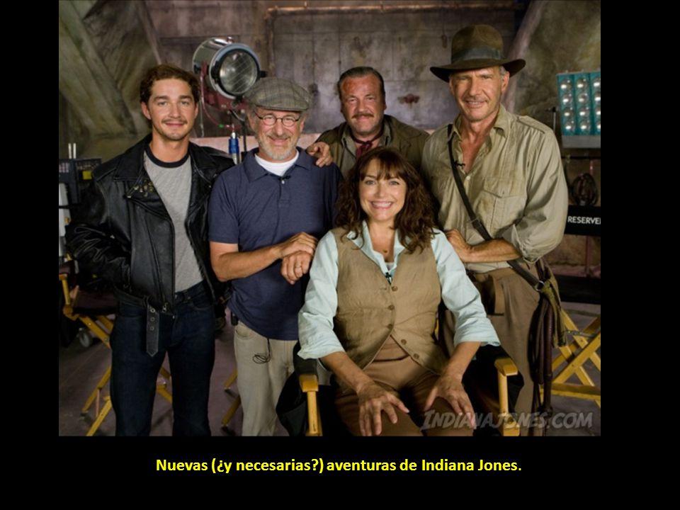 Nuevas (¿y necesarias ) aventuras de Indiana Jones.