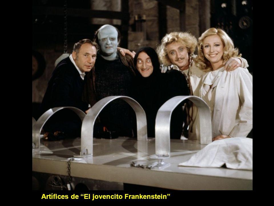 Artífices de El jovencito Frankenstein