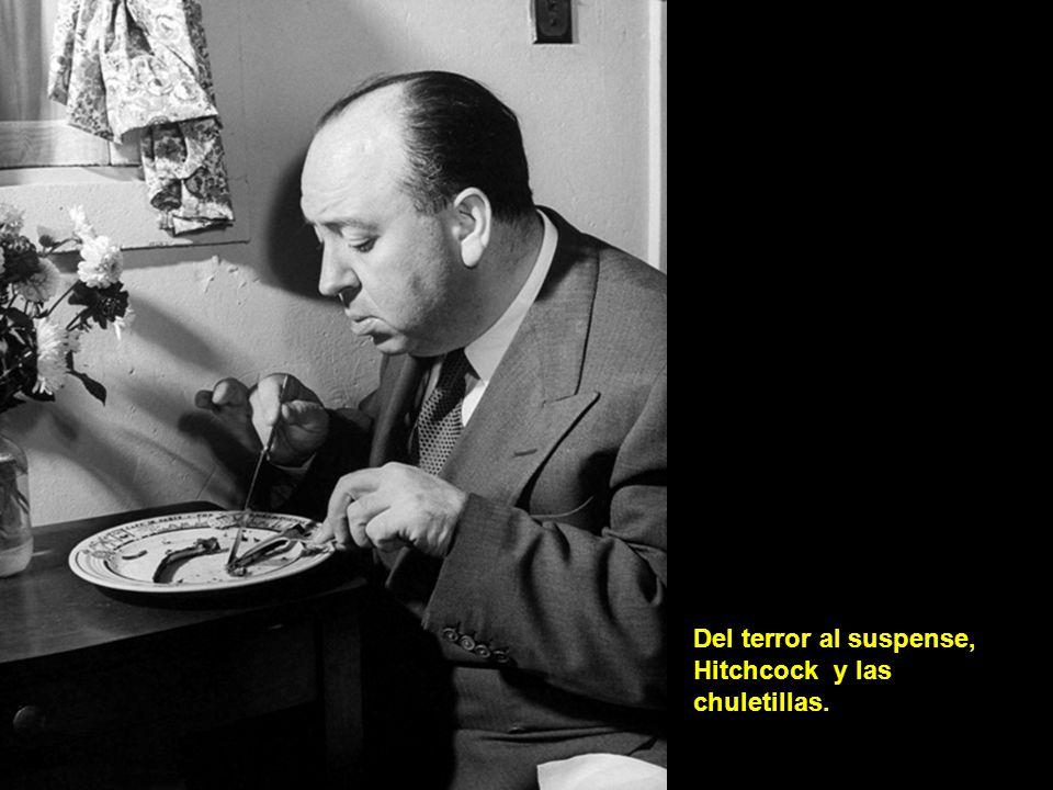 Del terror al suspense, Hitchcock y las chuletillas.
