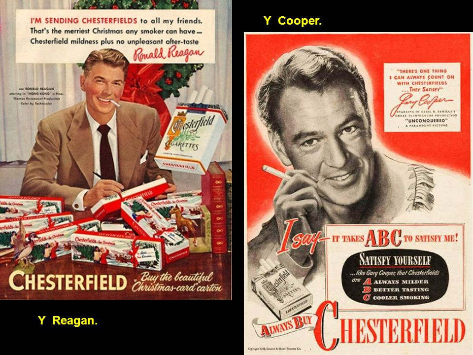 Y Cooper. Y Reagan.