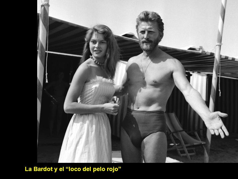 La Bardot y el loco del pelo rojo