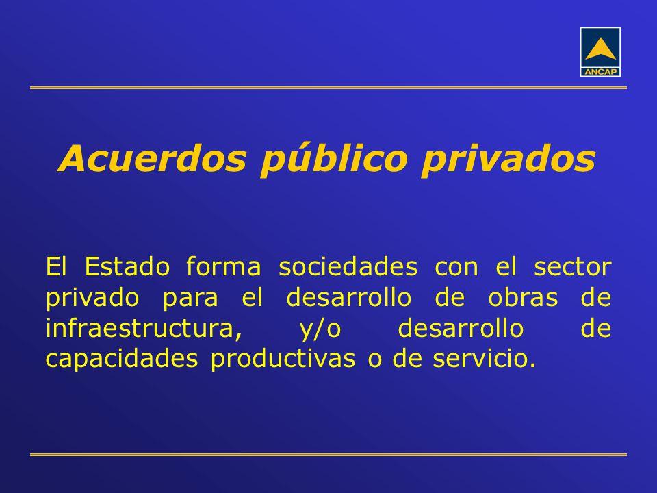 Acuerdos público privados
