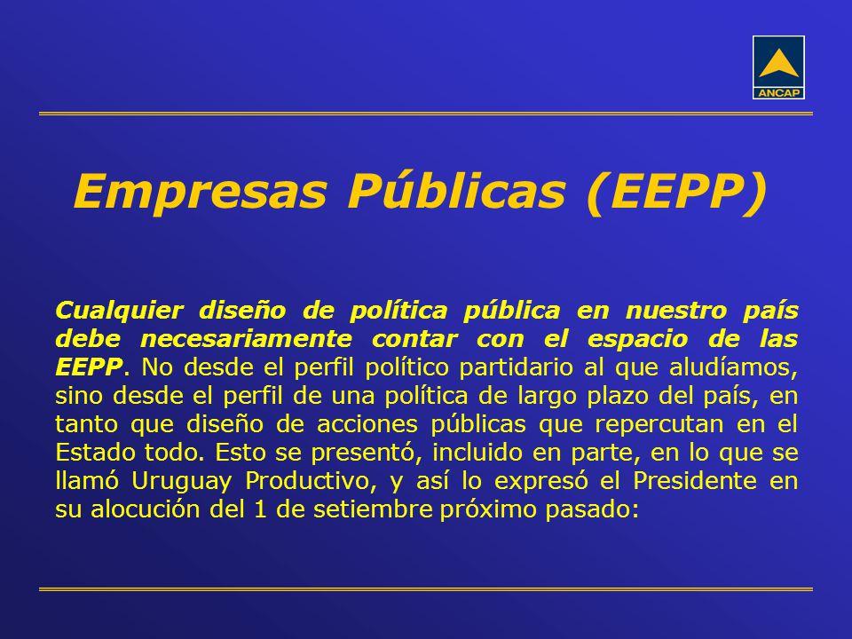 Empresas Públicas (EEPP)