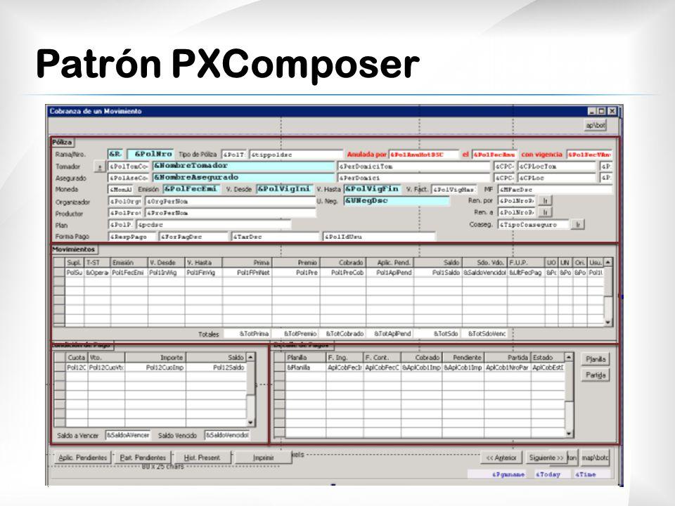Patrón PXComposer