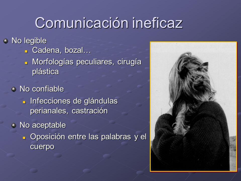 Comunicación ineficaz