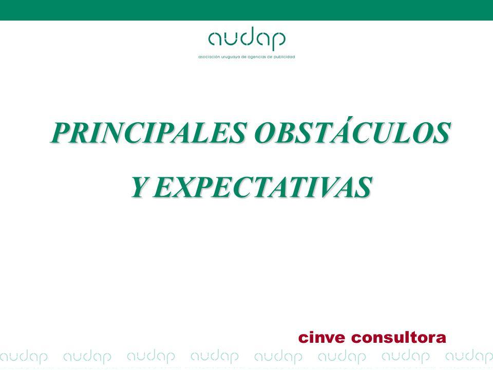 PRINCIPALES OBSTÁCULOS Y EXPECTATIVAS