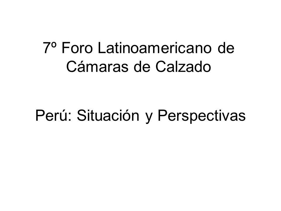 7º Foro Latinoamericano de Cámaras de Calzado
