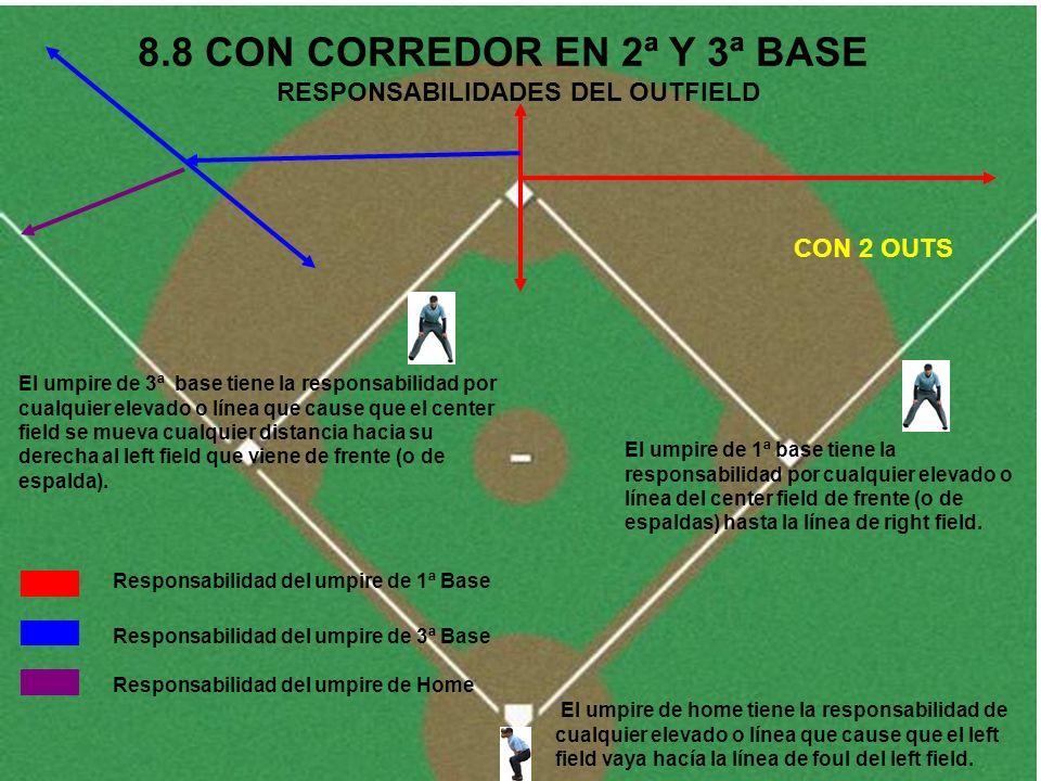 8.8 CON CORREDOR EN 2ª Y 3ª BASE