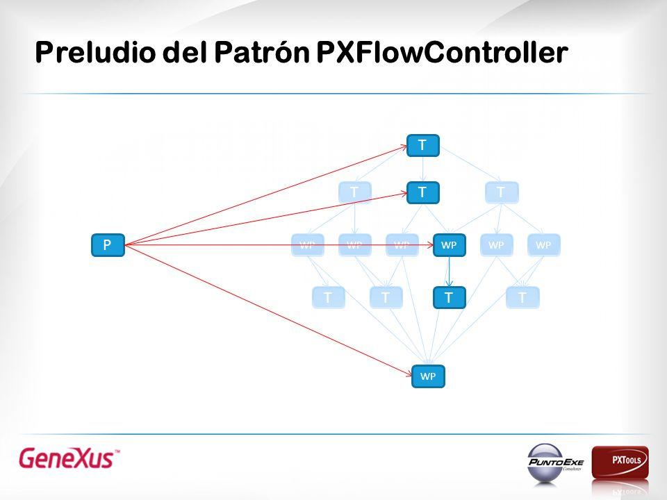 Preludio del Patrón PXFlowController