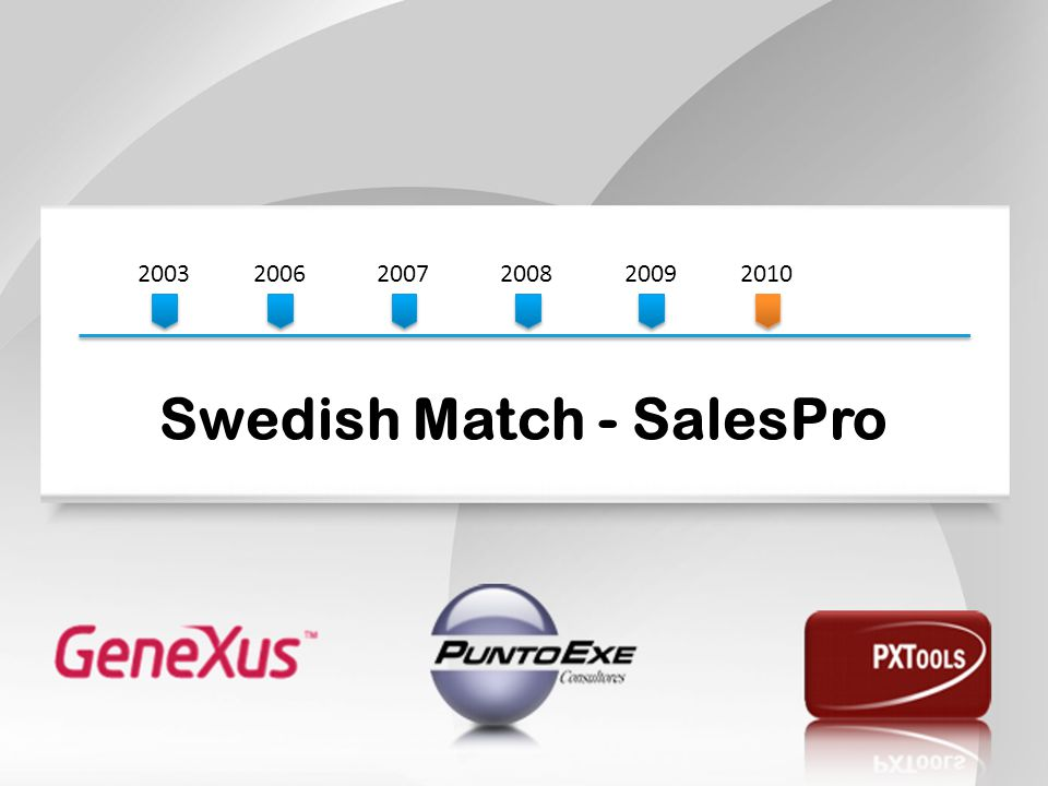 Swedish Match - SalesPro