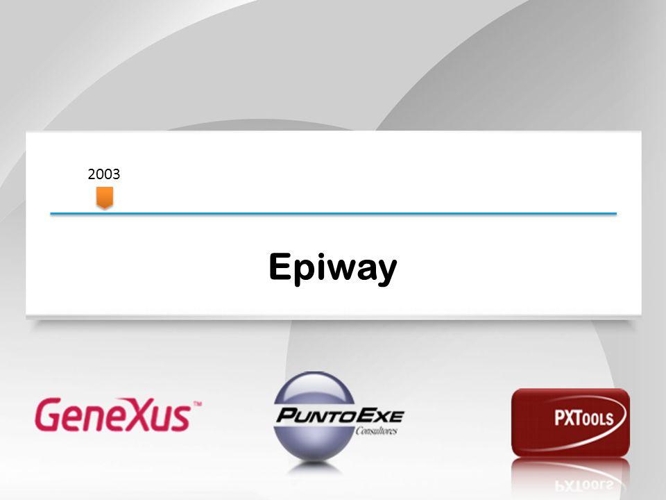 Epiway 2003 Comenzaremos en el año 2003.