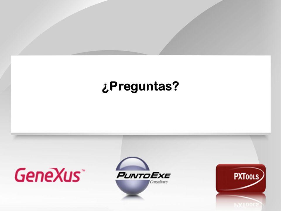 ¿Preguntas En el 2011 se decidió el desarrollo del patrón PXFlowController por necesidad de dos empresas importantes: