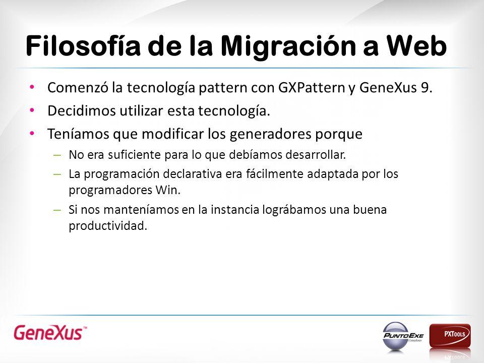 Filosofía de la Migración a Web