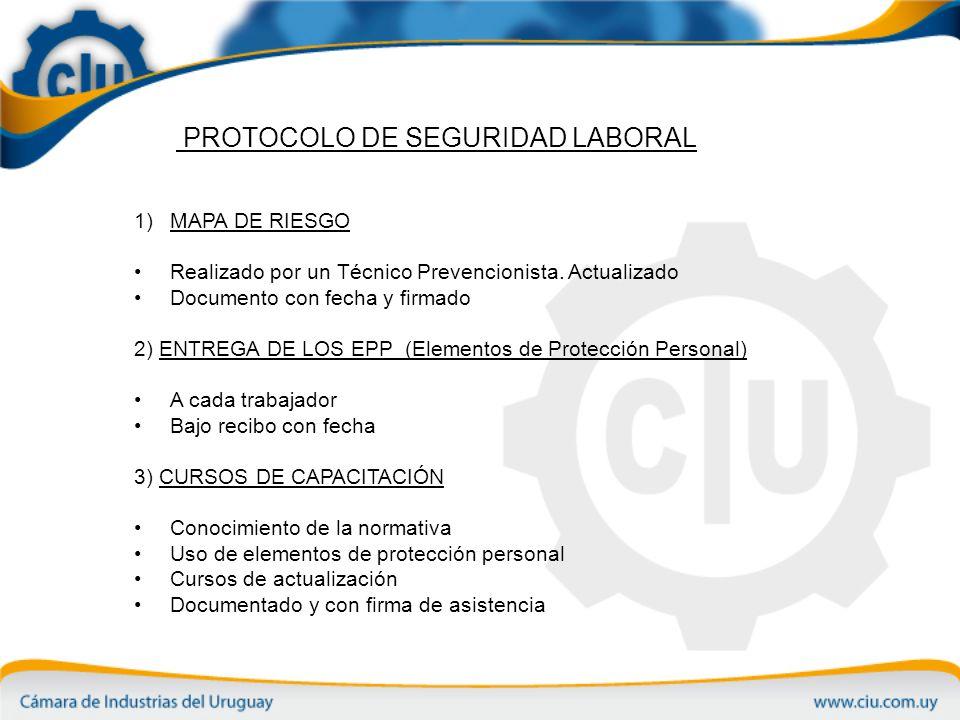 PROTOCOLO DE SEGURIDAD LABORAL