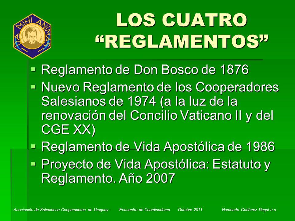 LOS CUATRO REGLAMENTOS