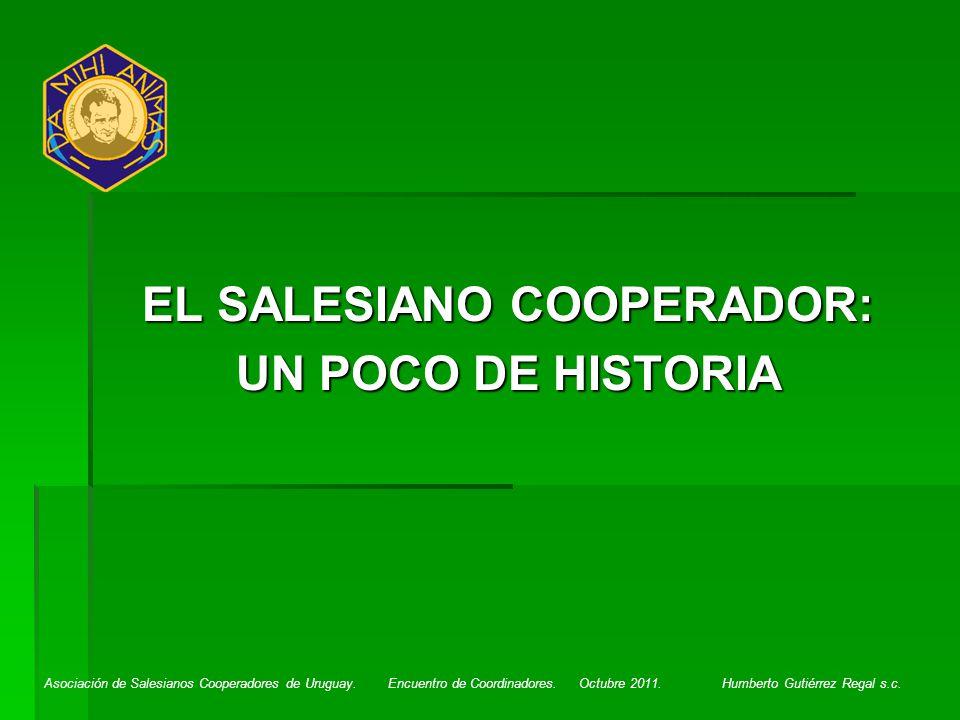 EL SALESIANO COOPERADOR: