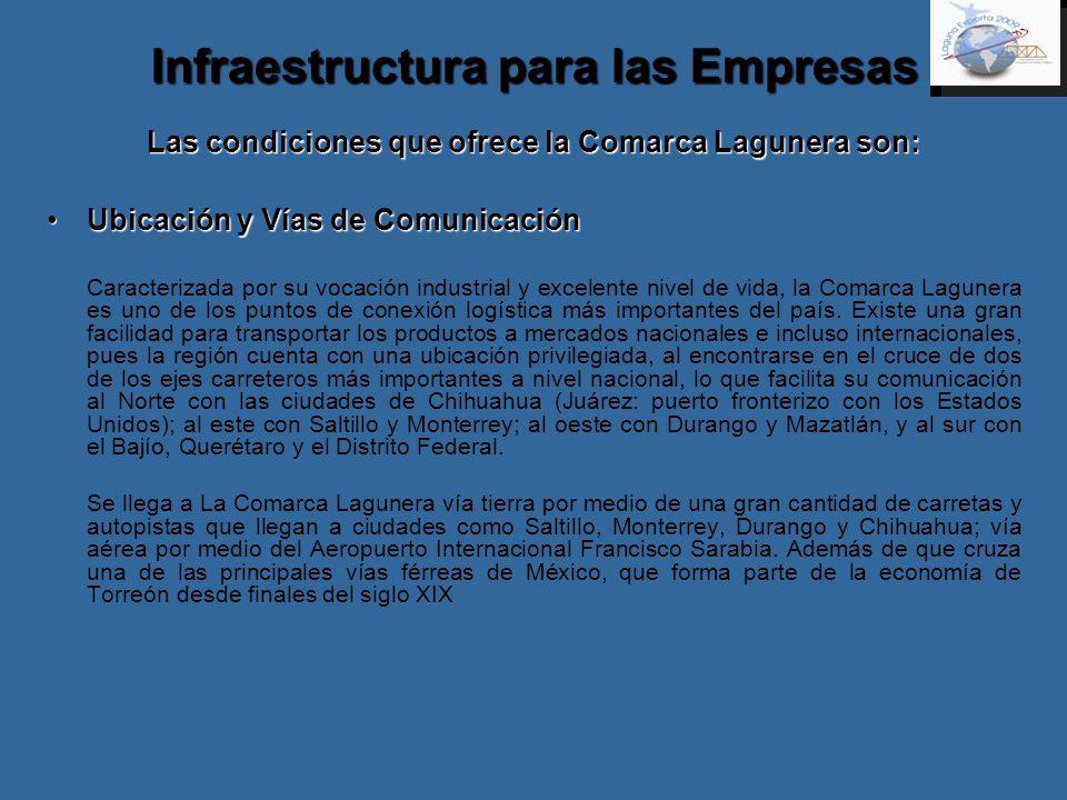 Infraestructura para las Empresas