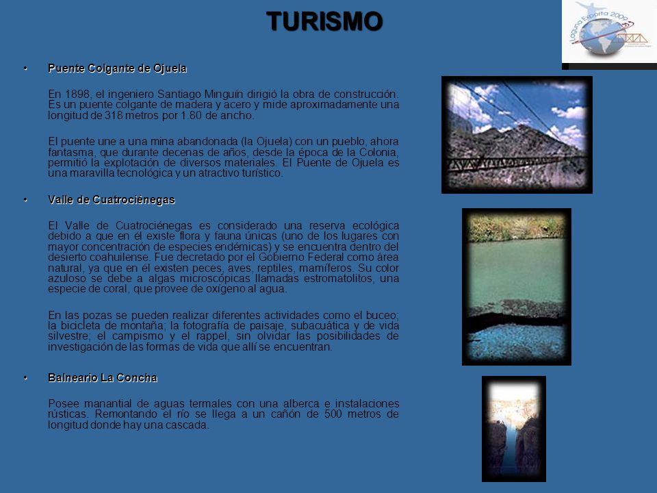 TURISMO Puente Colgante de Ojuela