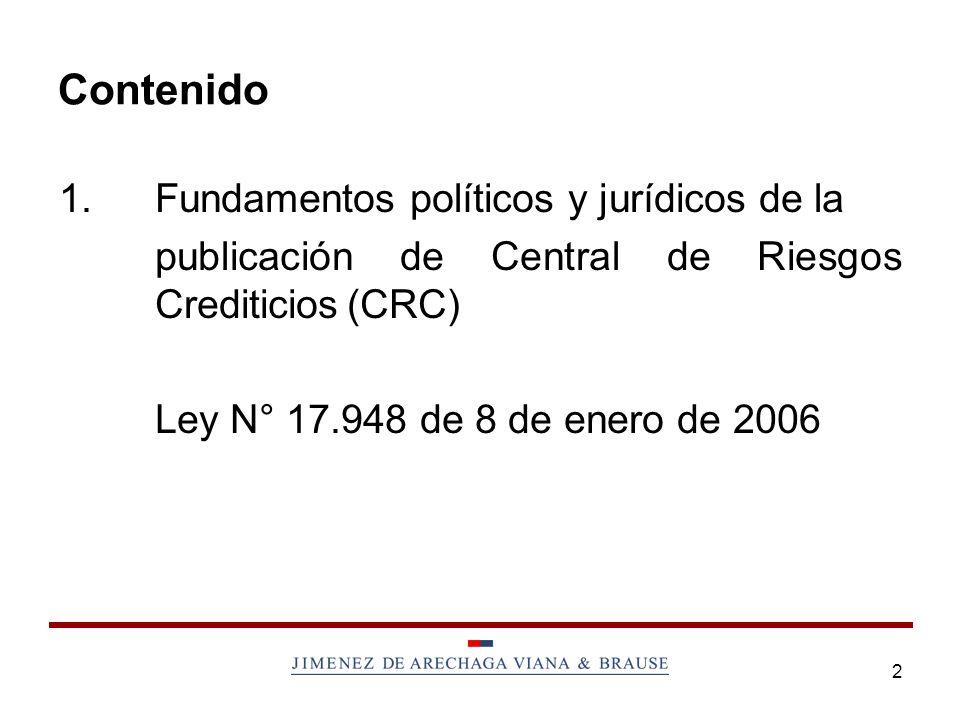Contenido 1. Fundamentos políticos y jurídicos de la