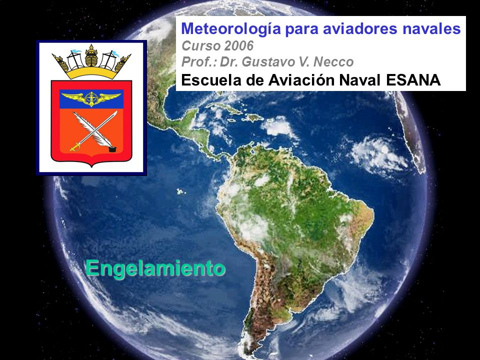 Engelamiento Meteorología para aviadores navales