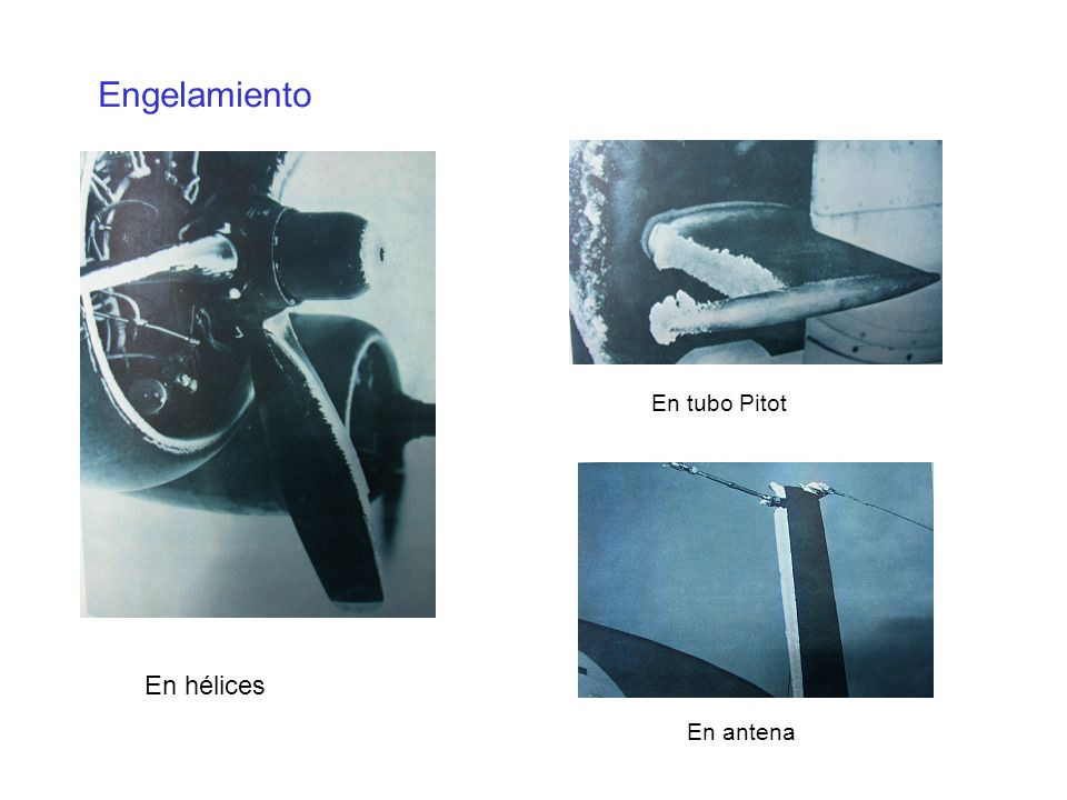 Engelamiento En tubo Pitot En hélices En antena