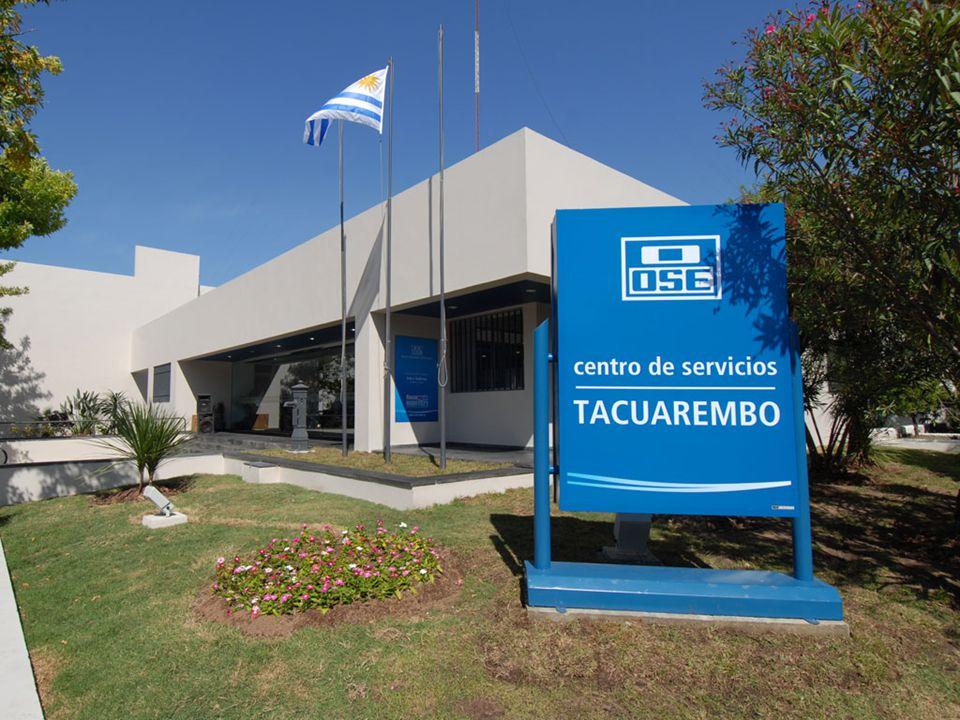 67 centros de servicios en todo el territorio nacional