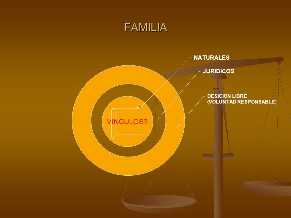 FAMILIA VINCULOS